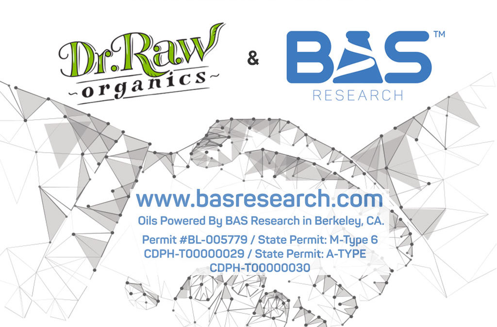 Dr. Raw Announces Licensed Partnership With BAS Research