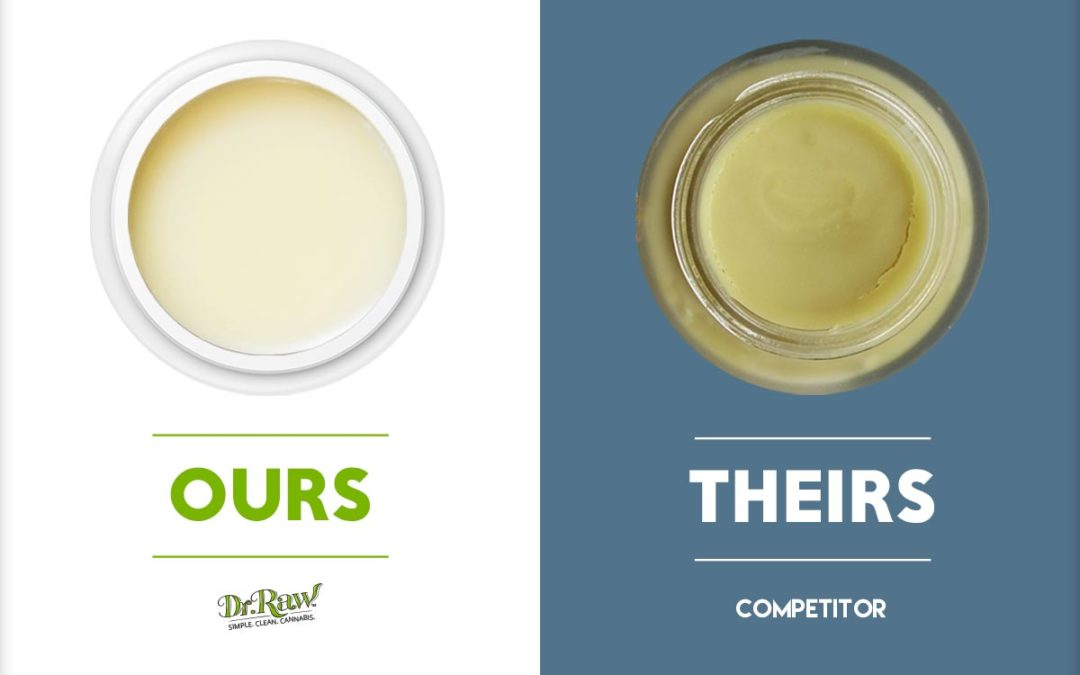 The Best Cannabis Topical Balm | The Dr.Raw Difference
