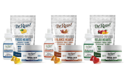 Focus, Balance, Relax: Dr. Raw's Three Iconic Formulas