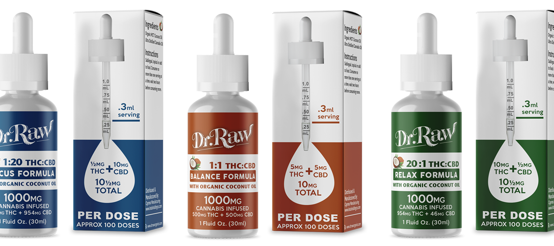 Dr. Raw Tinctures | Five Products in One!
