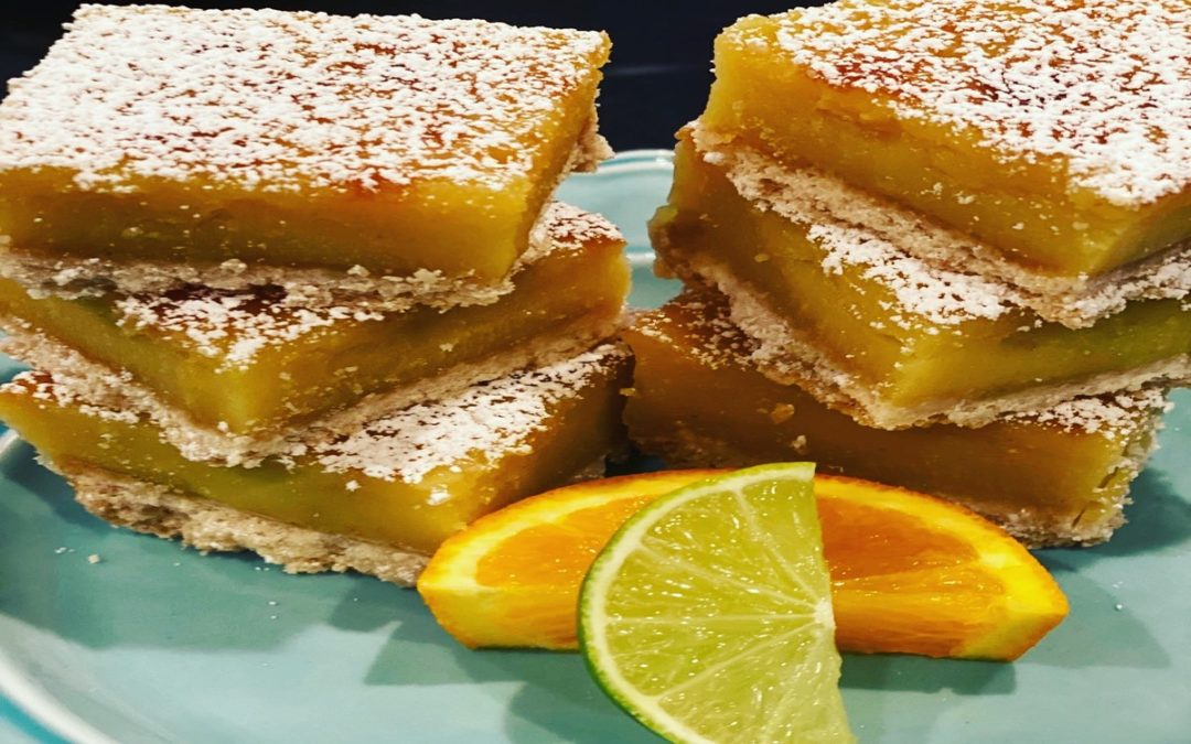 Cannabis Infused Summer Citrus Squares