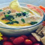 Cannabis Infused creamy hummus