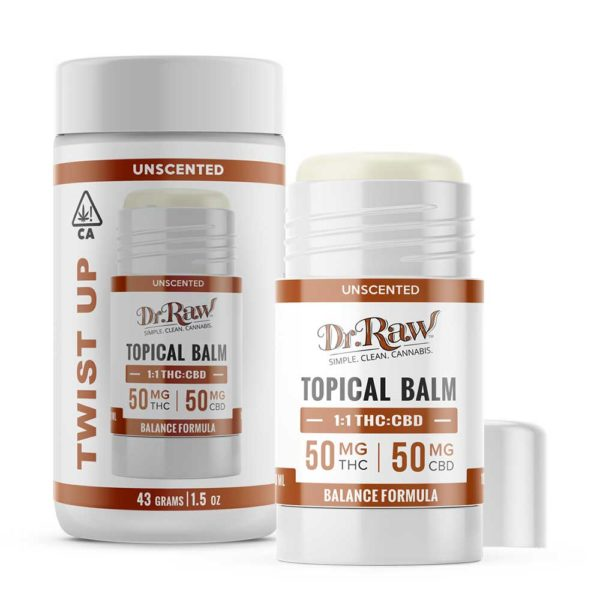 dr. raw balance balm twist up