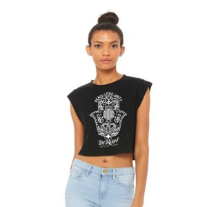 dr. raw peace unity crop tank