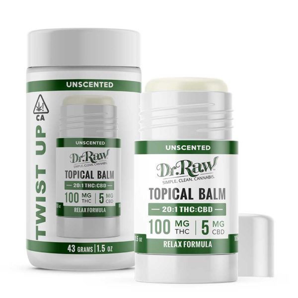 dr. raw relax twist up balm